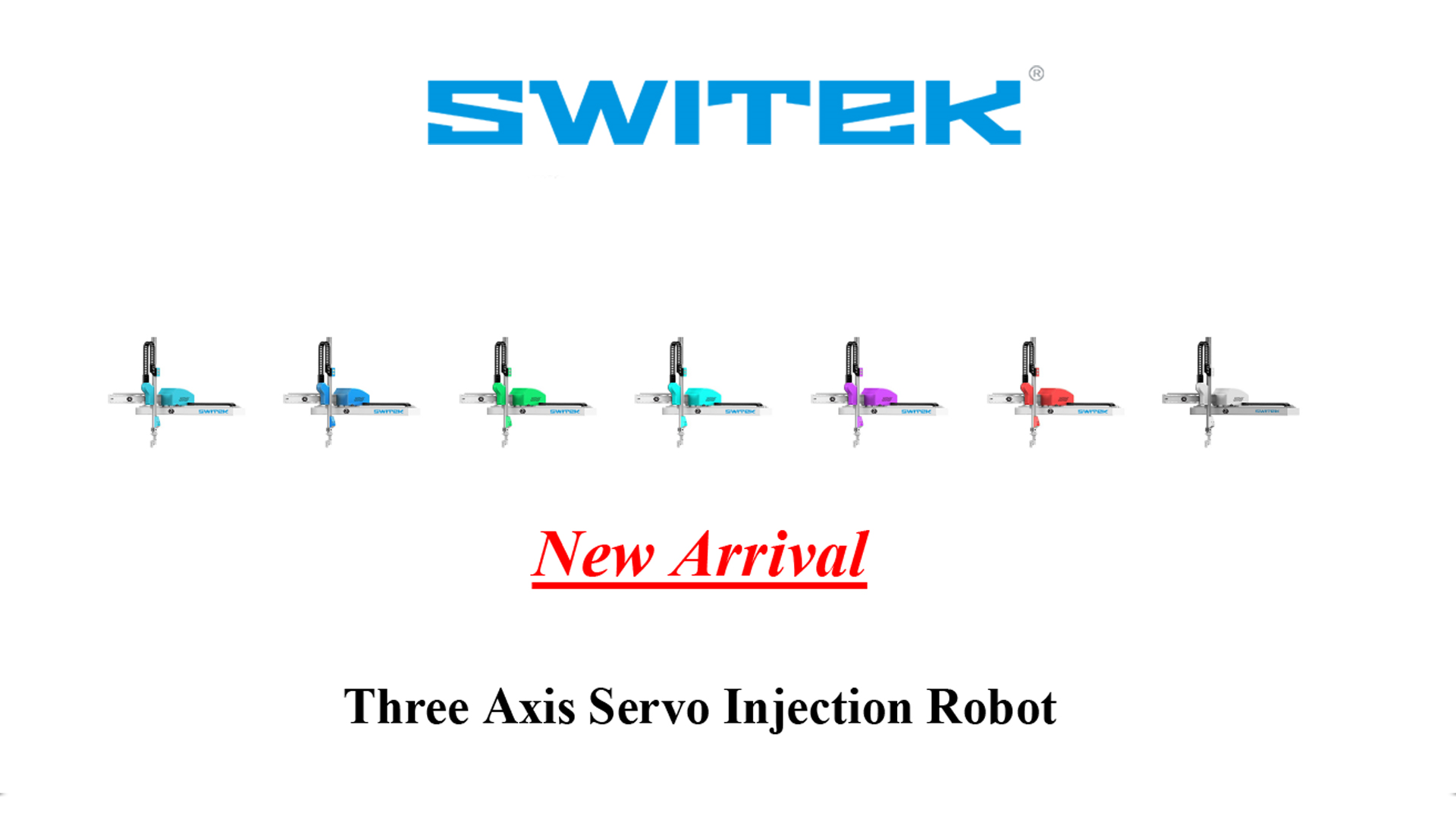Three Axis Servo Injection Robot